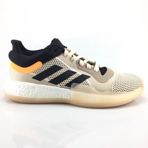 adidas Marquee Boost Low Linen Basketball Shoes